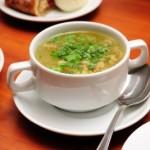 Фасолевый суп на испанском языке.